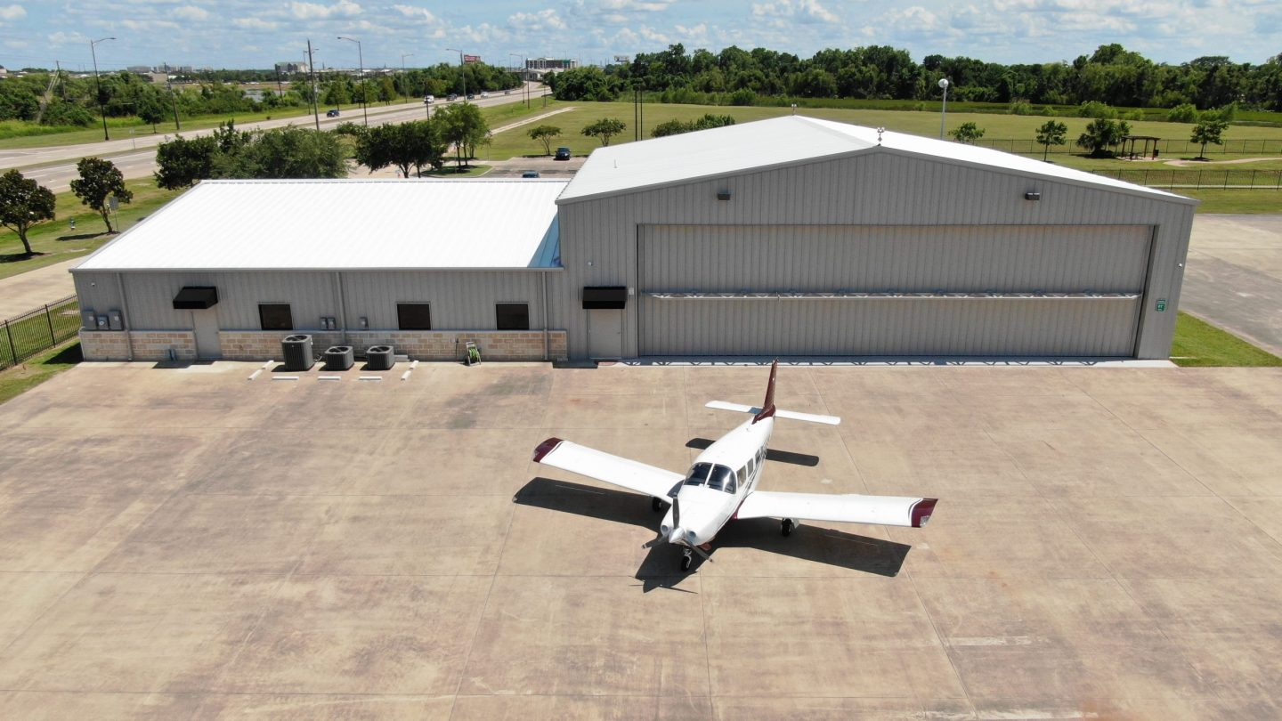 Class A Office + Hangar on Highway 6 Across from Constellation Field, Sugar Land